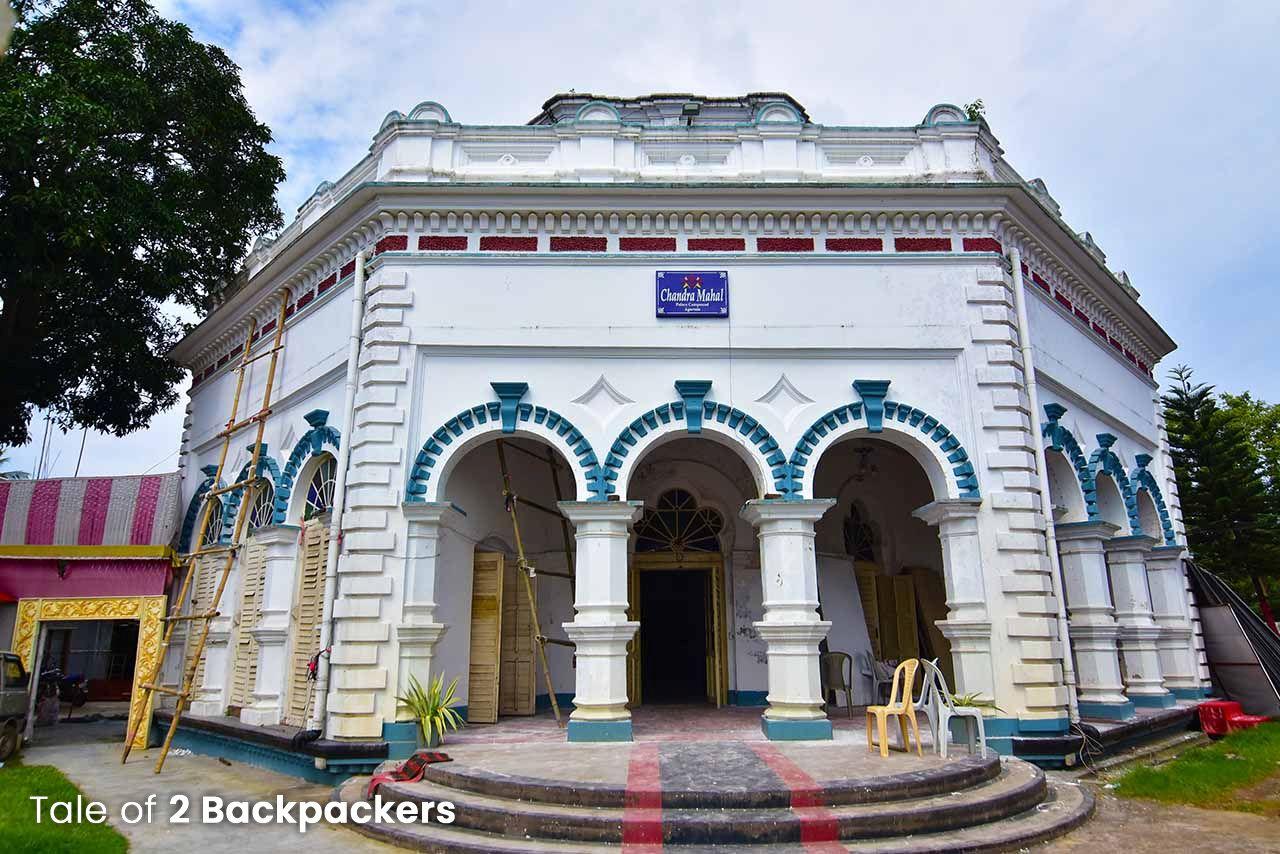 A heritage building in Agartala