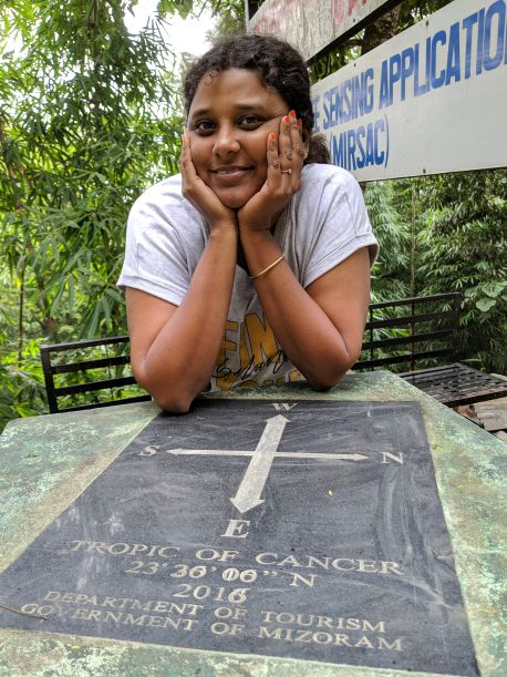 The place where Tropic of Cancer passes through in Mizoram