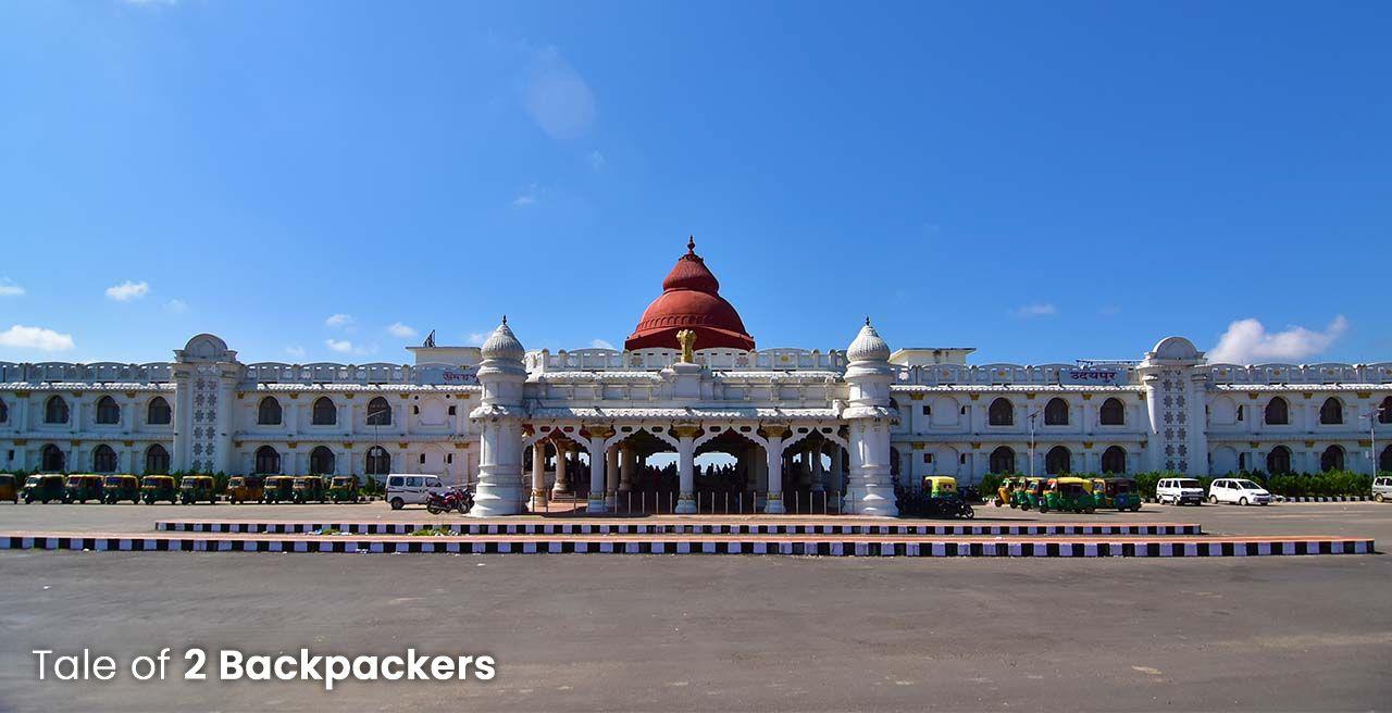 Udaipur Railway Station in Tripura