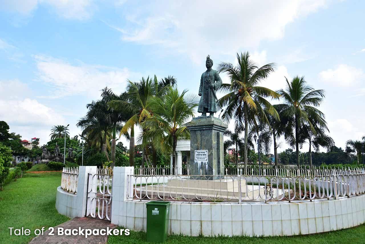 Ujjayanta Palace Gardens