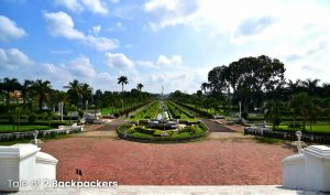 Ujjayanta Palace grounds