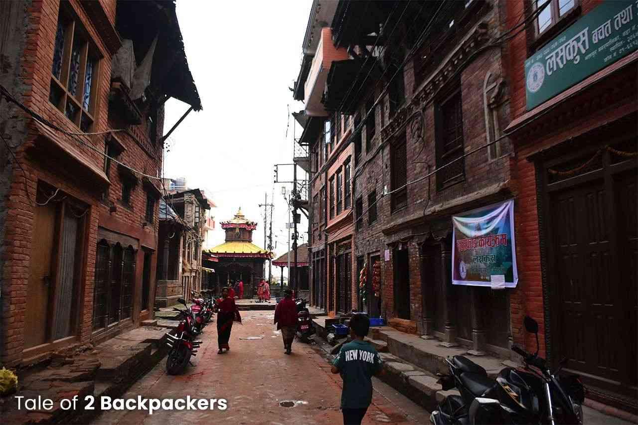 Alleys of Bhaktapur