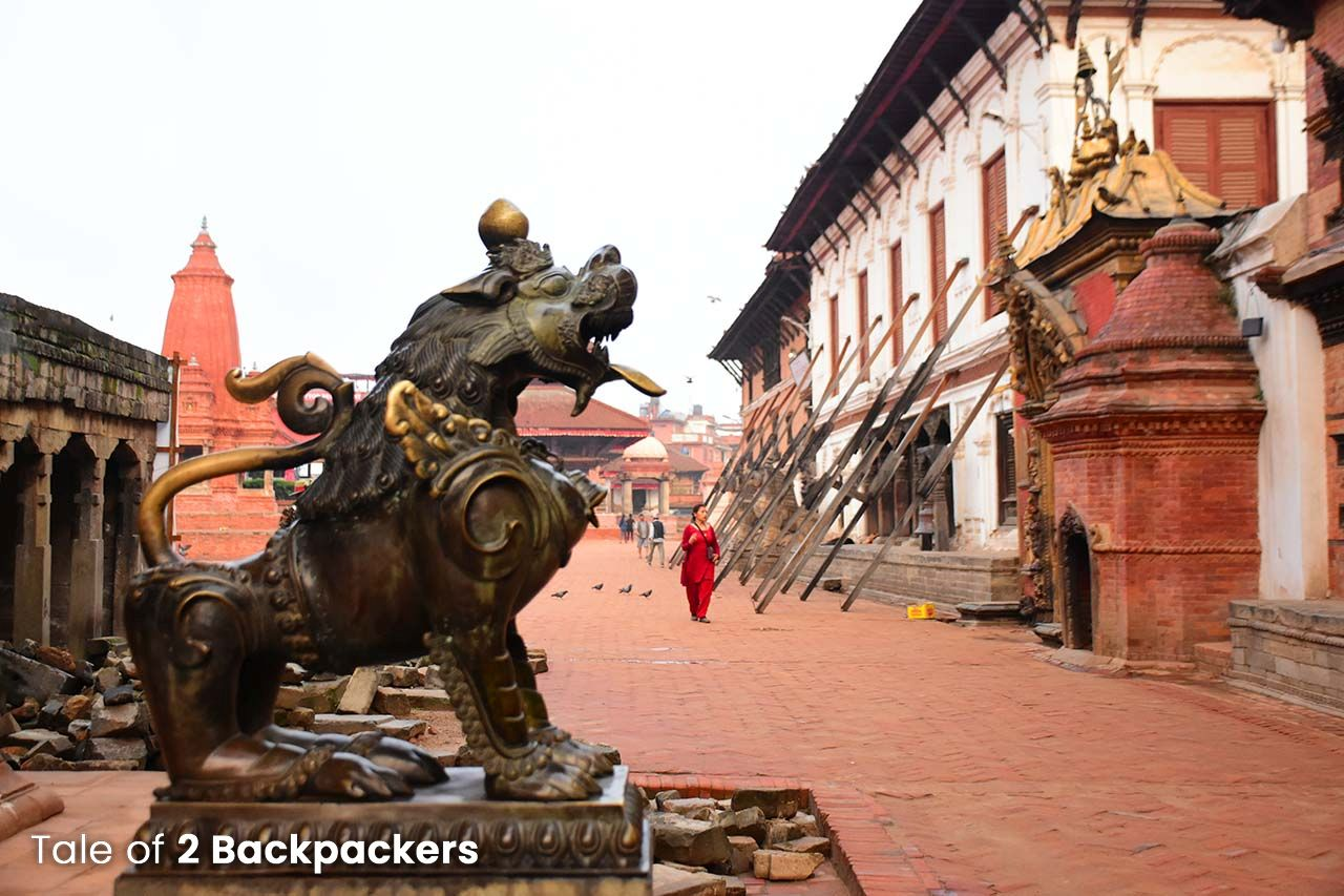 Bhaktapur Durbar Square UNESCO World Heritage Site in Nepal