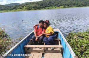 Boating at Rih Dil Lake- places to visit in Mizoram