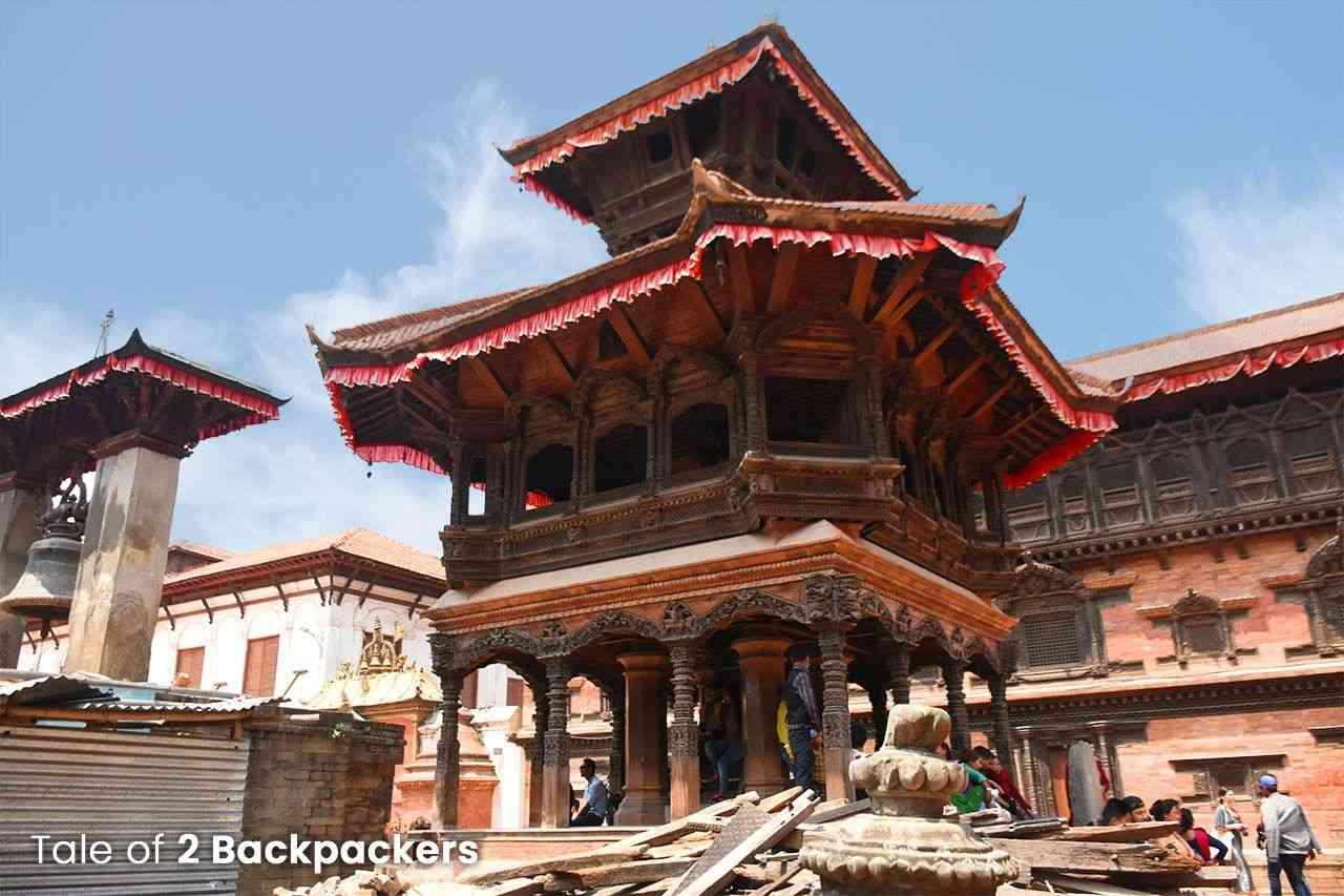 Chyasalin Mandap in Bhaktapur Durbar Square, Nepal