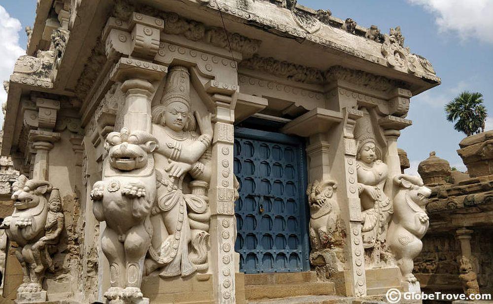 Temples of India_Kailasanathar temple entrance
