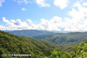 Mountains of Mizoram - the land of Blue Mountains