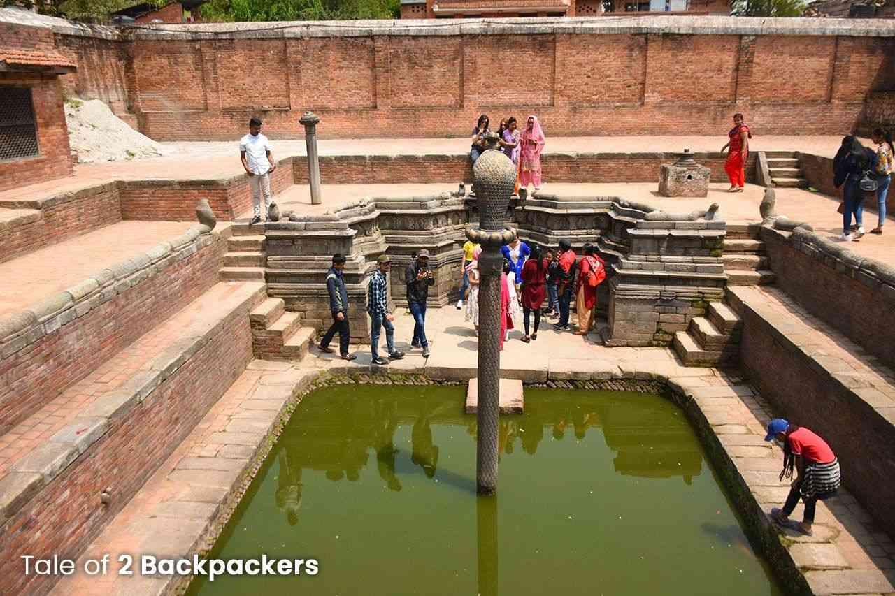 Naga Pokhri in Bhaktapur Durbar Square