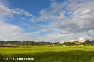 Paddy fields of Champhai Mizoram