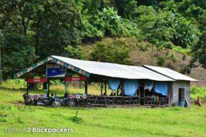 Place to eat at Rih Dil Lake - Rih