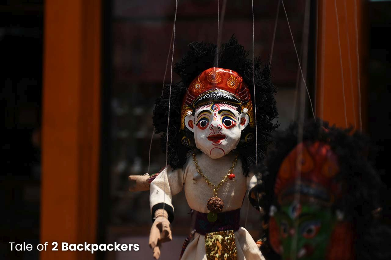 Puppet - handicrafts from Bhaktapur