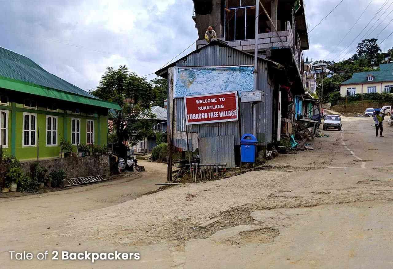 Ruantlang Mizo village near Champhai