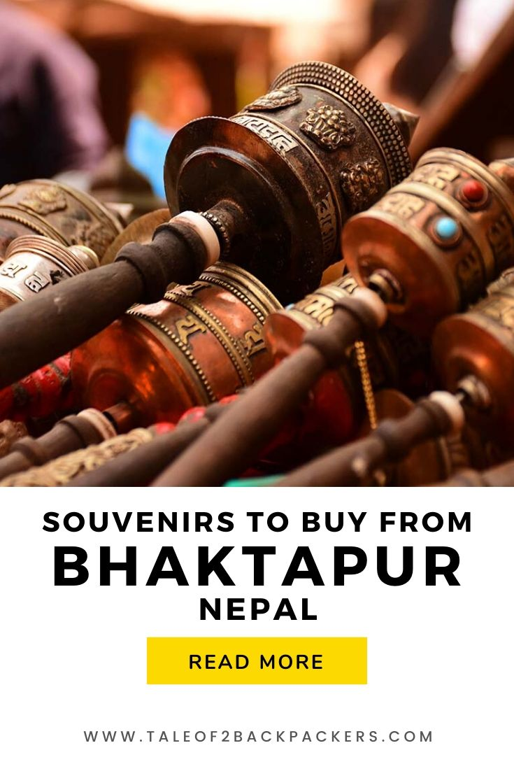 Souvenirs to buy from Bhaktapur, Nepal