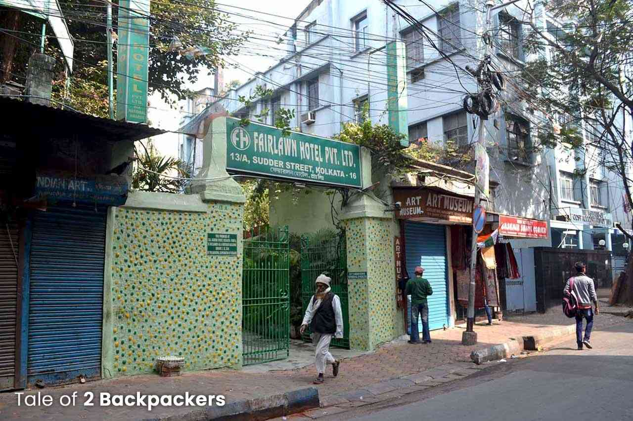 Sudder Street is one of the best places to stay in Kolkata
