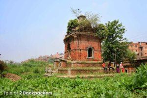 Temple at Bhaktapur Nepal