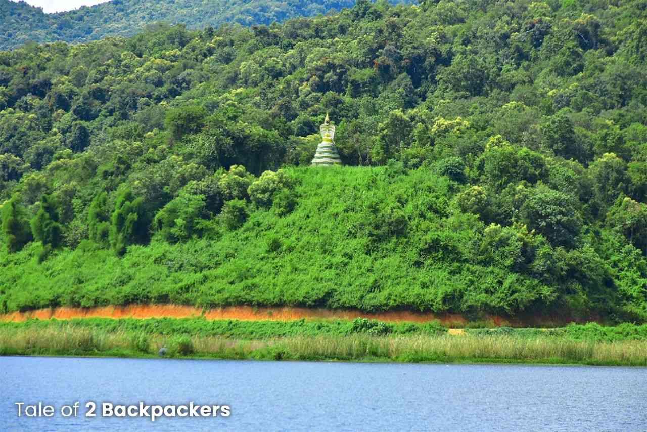 View of the Rih Dil Lake - Mizoram Travel Guide