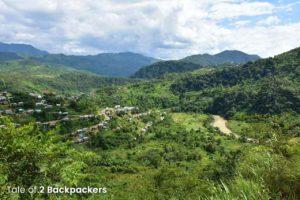 View of the Tiau River from Zokhawthar Mizoram