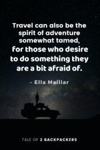 Adventure Quotes by Ella Maillar