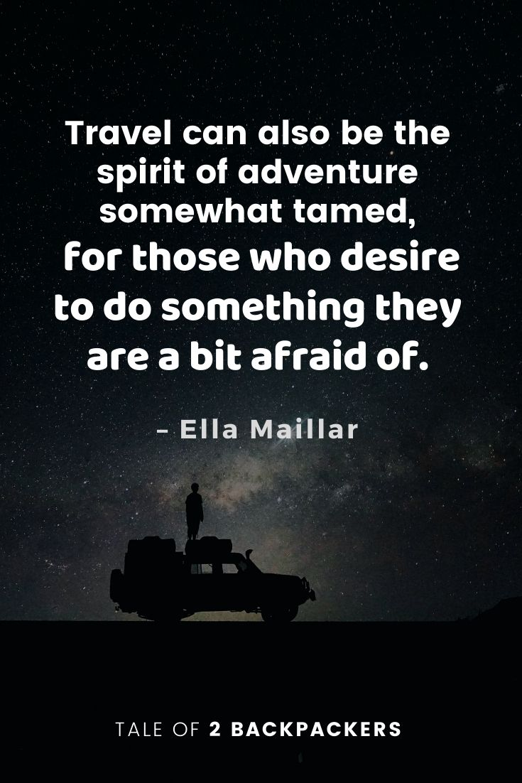 Adventure Quotes by Ella Maillar