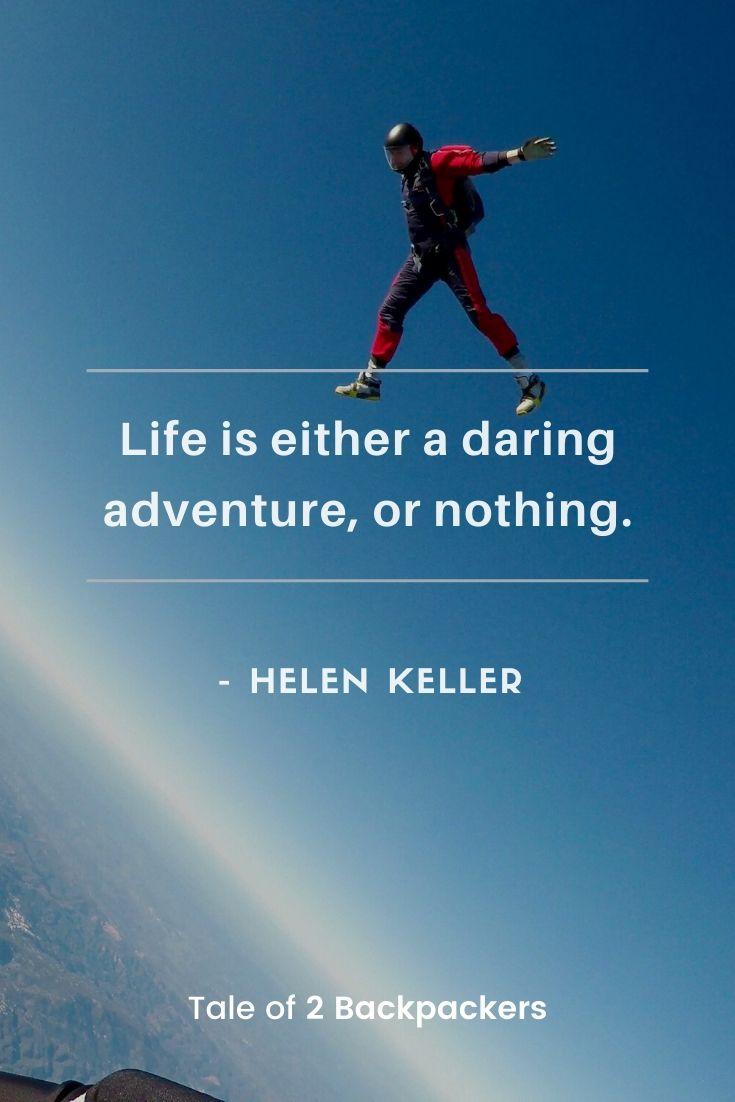 Adventure Quotes by Hellen Keller
