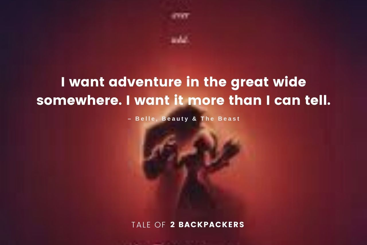 Adventure Quotes from movies - Beauty and the Beast