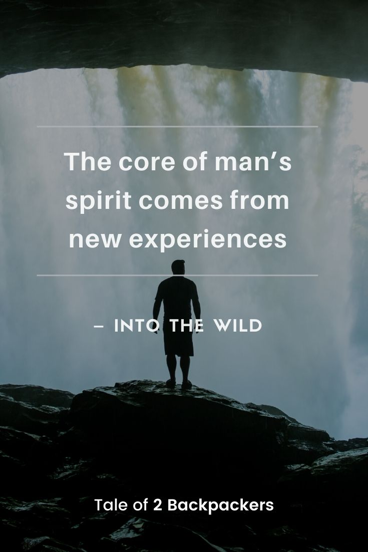 Adventure Quotes from movies - Into The Wild
