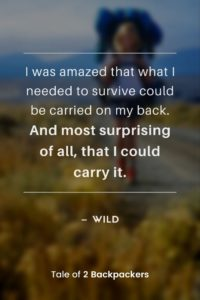 Adventure Quotes from movies and films - Wild