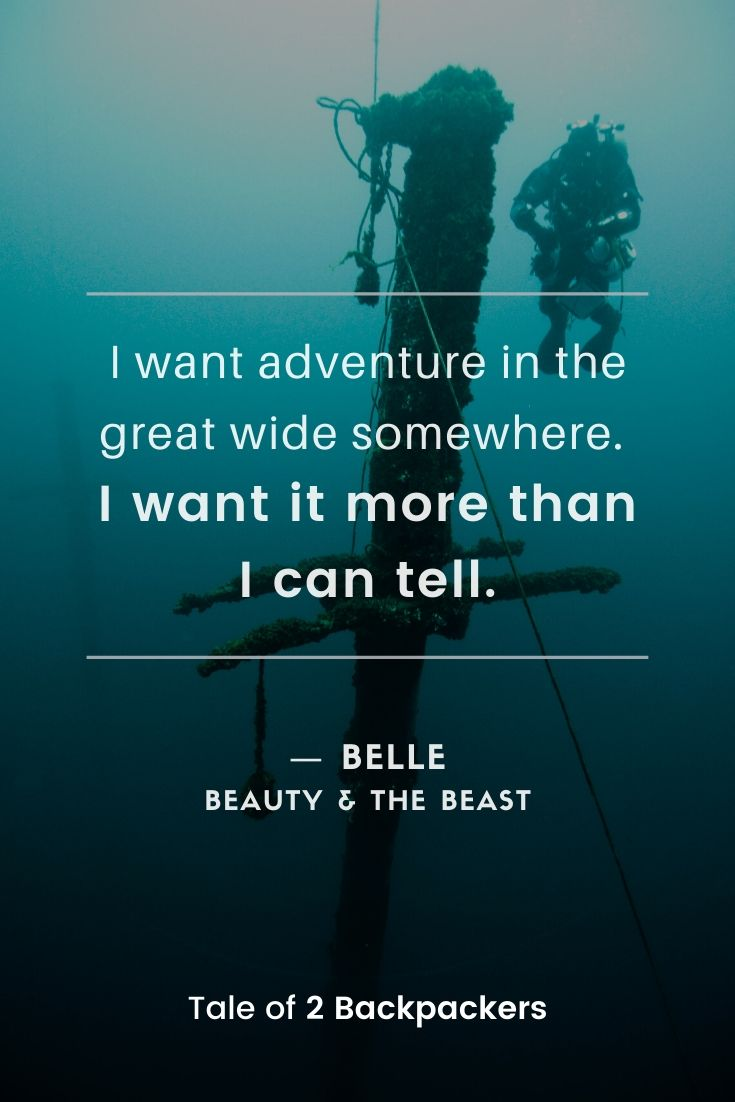 Adventure Quotes from Walt Disney movies