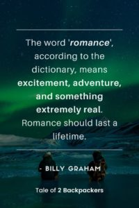 Adventure romance Quotes