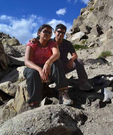 Amrita - Tale of 2 Backpackers