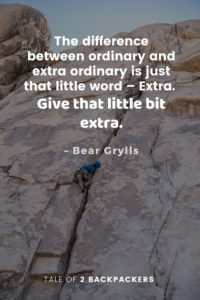 Bear Grylls Adventure Quotes and survival
