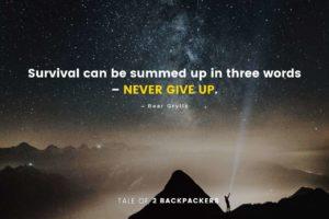 Bear Grylls Adventure Quotes
