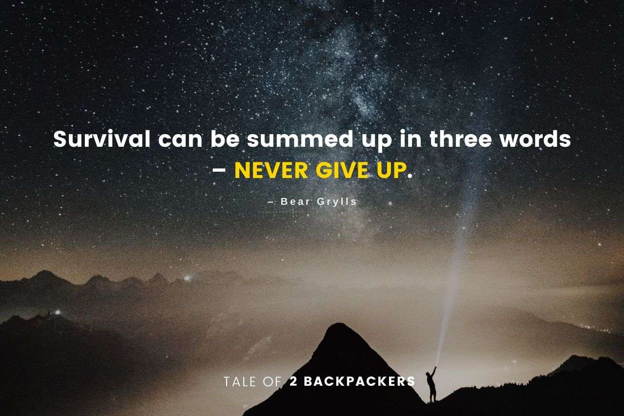 Bear Grylls Adventure Quotes