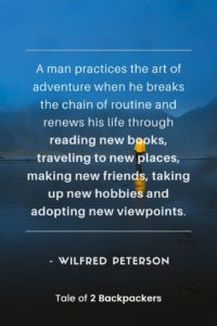 Life Adventure Quotes by Wilfred Peterson