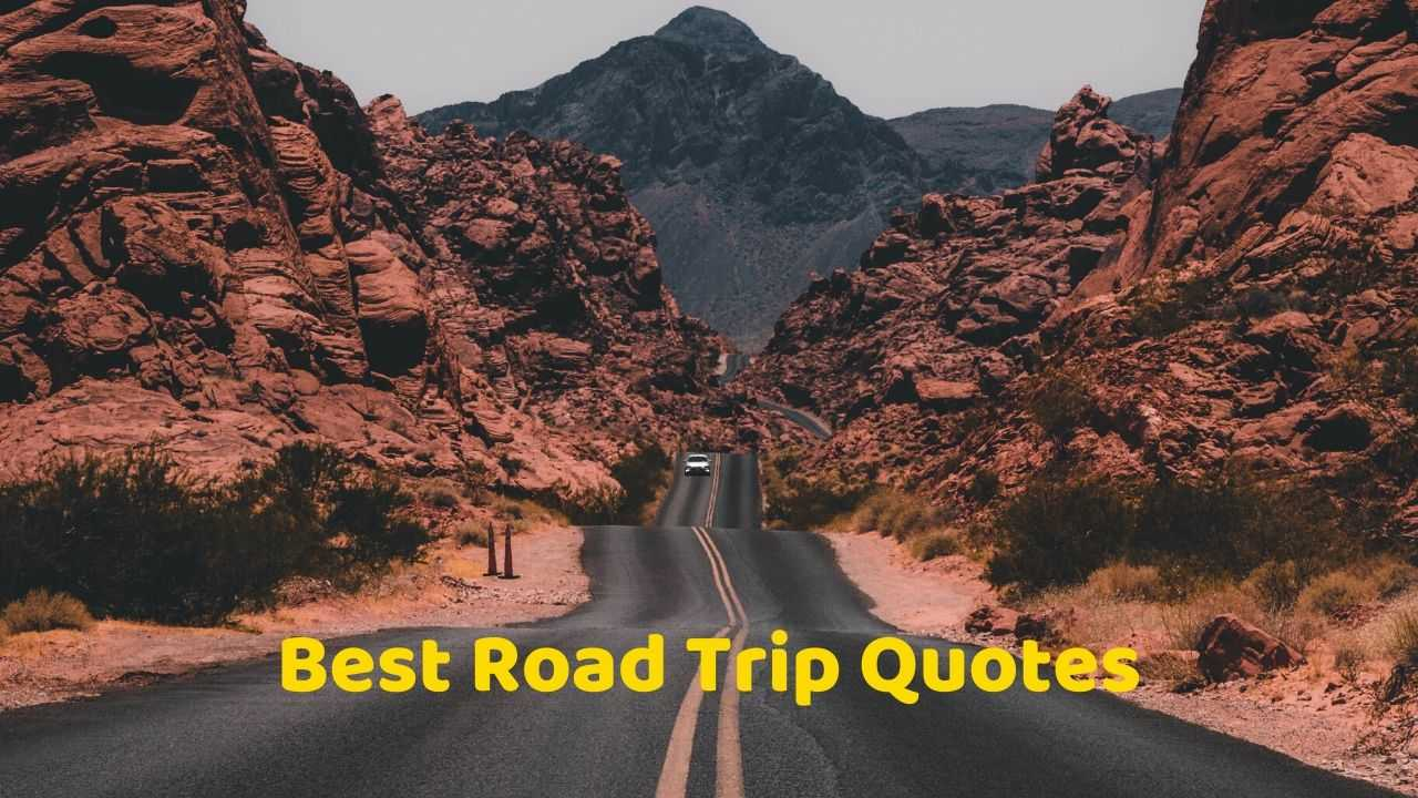 100 Best Road Trip Quotes to motivate you to hit the road