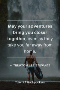 Great Adventure Sayings