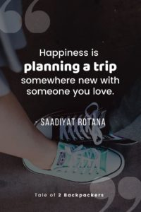 Happiness road trip