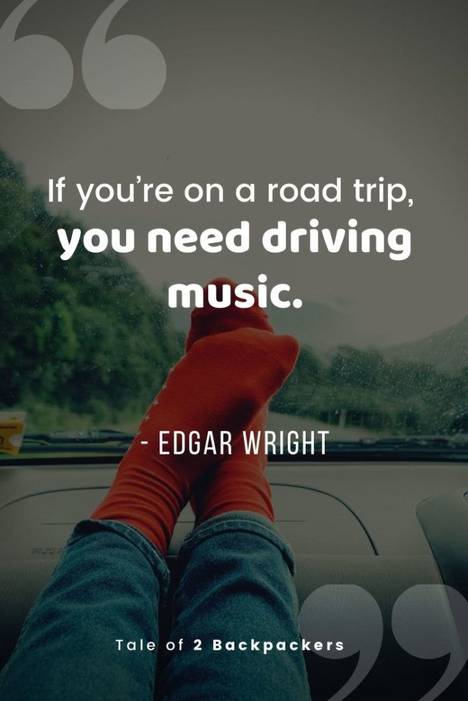 If you're on a road trip you need driving music - funny road trip quotes