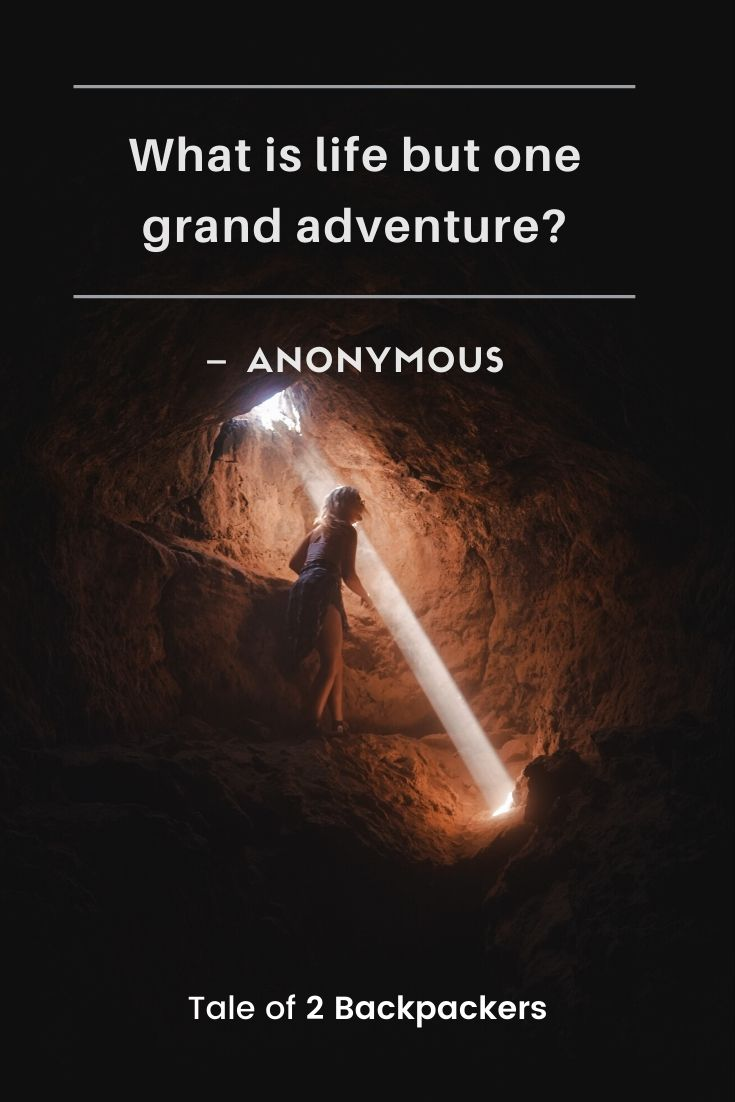 What is life but a grand adventure - Life and adventure quotes
