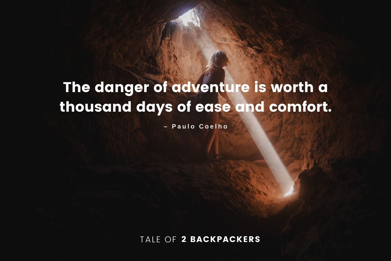 Paulo Coelho Adventure Quotes and Travel Instagram Captions