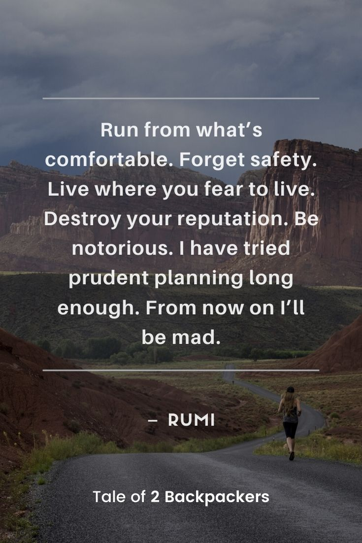 Adventurous Quotes by Rumi