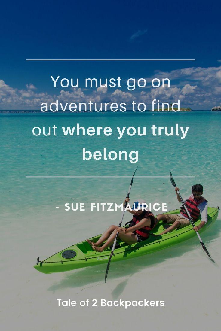 Short Adventure Quotes