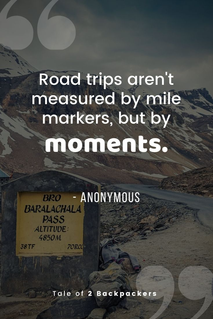Road trips aren't measured by mile markers, but by moments