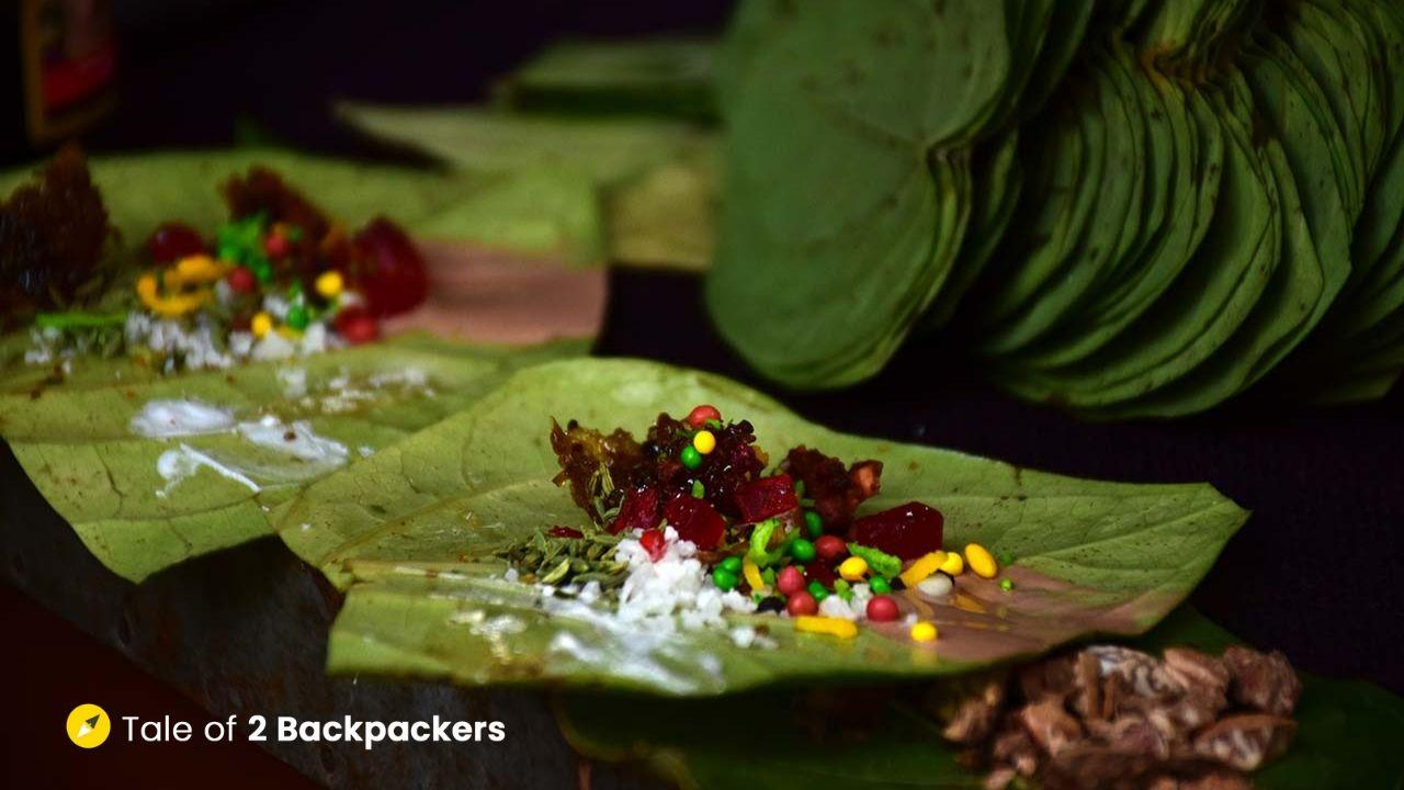 Banarasi Paan - must eat in Varanasi