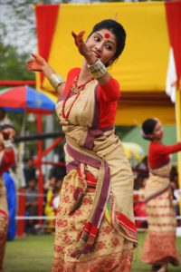 Bihu - harvest festival in Assam, India