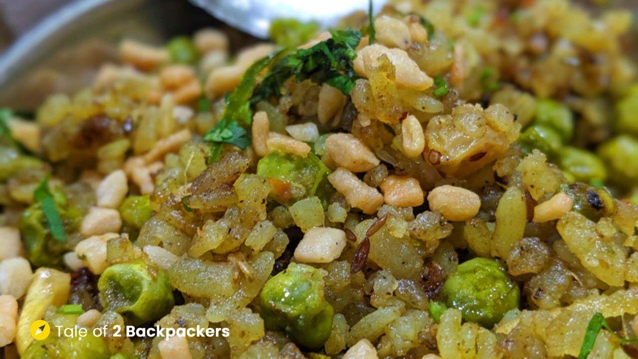 Chooda Matar - Street Food in Varanasi