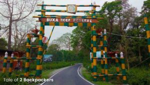Entrance of Buxa Tiger Reserve at Rajabhatkhawa