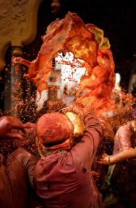 Holi in Mathura