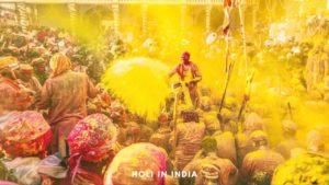 Holi in Vrindavan Mathura Barsana