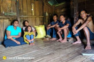 Inside a Khasi House at Kongthong